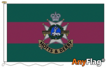 SHERWOOD FORESTERS NOTTS  AND DERBY  ANYFLAG RANGE - VARIOUS SIZES